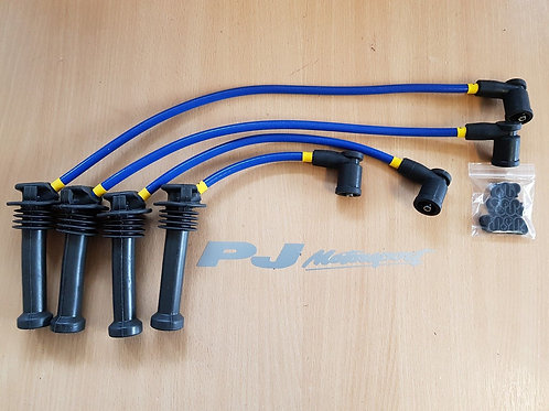 FOCUS RS ST170 ZETEC UPRATED SPARK PLUG LEADS IGNITION LEADS WITH LEAD TIDY KIT
