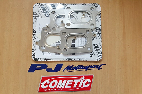 COSWORTH YB MULTILAYER EXHAUST GASKETS COMETIC TOP SPEC IDEAL BIG POWER REUSABLE