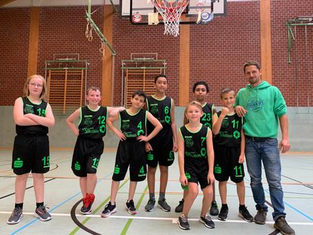 U12-Team gewinnt Basketballkrimi