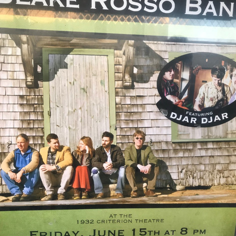 Opening for the Blake Rosso on 6/15