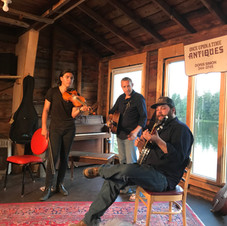 July 28, 2019 Barn Show with Mathias Kamin and B. Singer