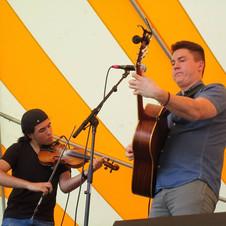 w/Eamon Sefton at 2018 American Folk Festival