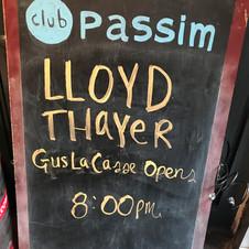 4/17 Lloyd Thayer's Big Show
