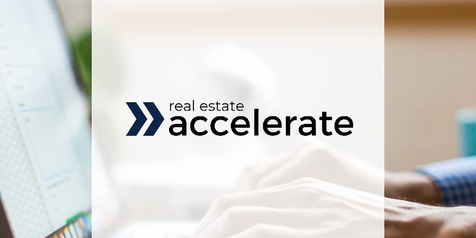 Real Estate Accelerate: Build your Book of Business from Zero to Millions