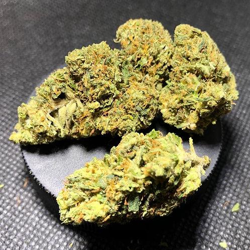 Indoor Sour Diesel CBD Hemp Flower (22.02% Cannabinoids)