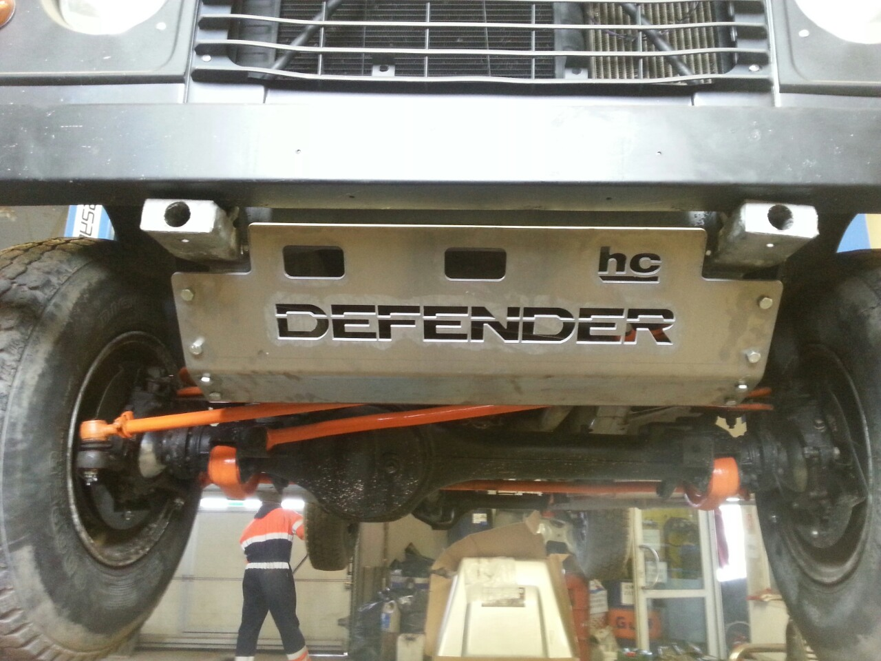 Defender engine gueard
