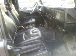 Defender 110 front seat
