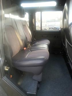 Defender 110 rear seat