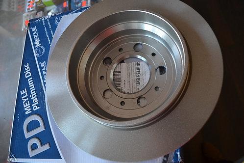 Stabdžių diskai MEYLE Platinum Disc (galas, 288mm)