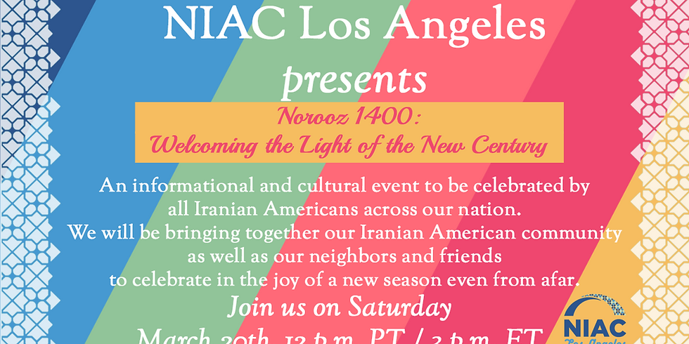 Norooz 1400: Welcoming the Light of the New Century