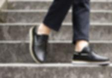 Chaussures cuir tressé mexique france artisanat fait-main homme bateau marin blanc noir