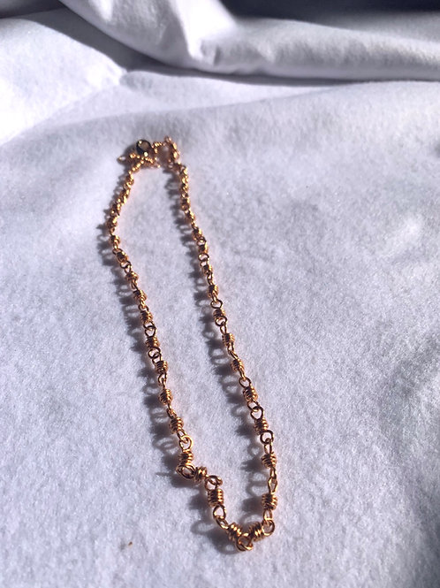 Gold Knot Chain