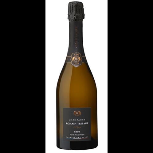 Champagne Brut Pur Meunier Tribaut bouteille 75 cl