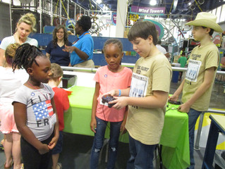 The Future Scientists and Engineers We Met at the Children's Museum of Houston