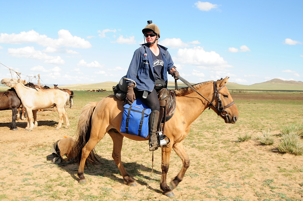 Holly Budge Mongol Derby