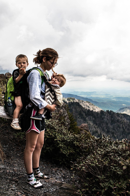 Shelby Clowers on The Appalachian Trail