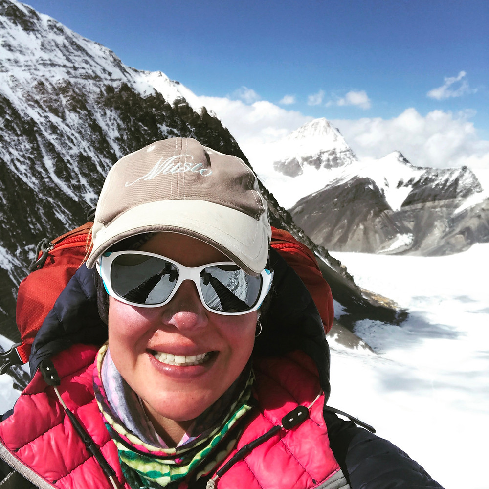 Holly Budge North Col Everest