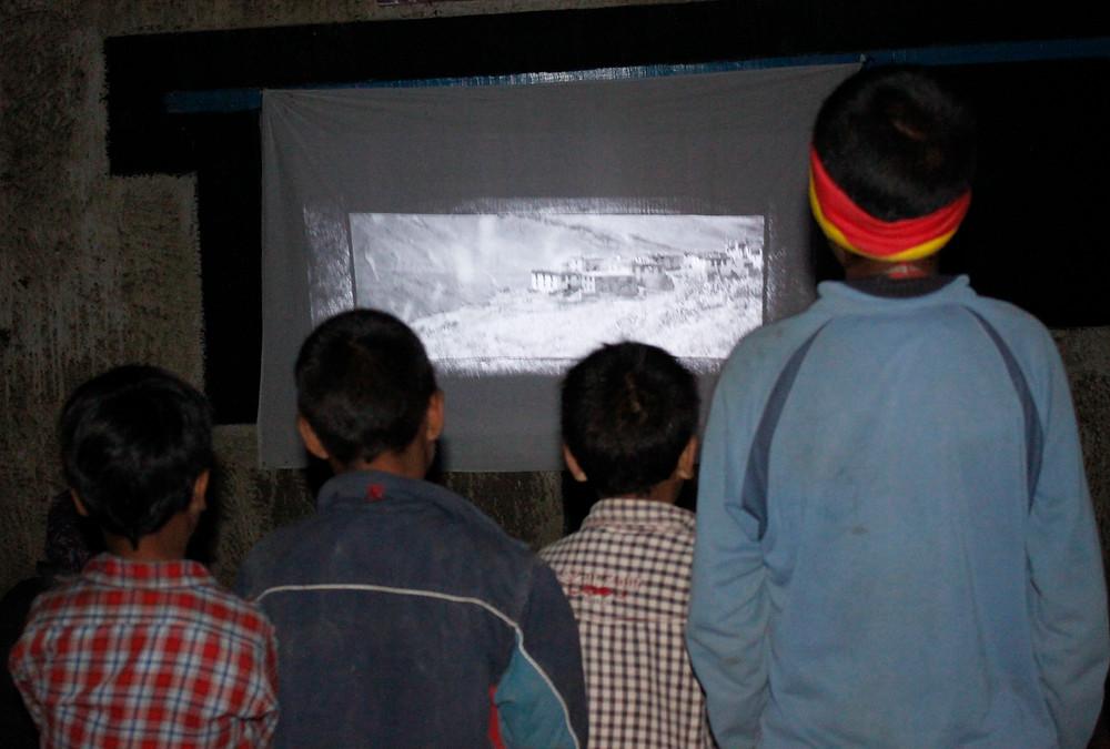 Ladakh travelling cinema - Emma de Heveningham