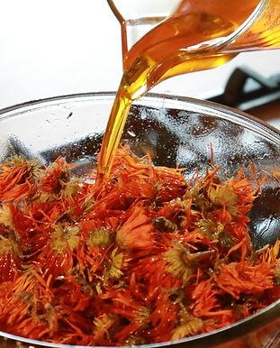 Ringelblumenöl verdoppelte Auszug