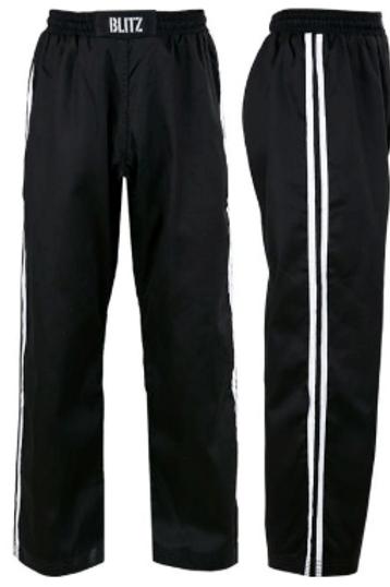 Coloured belt uniform (trousers only).