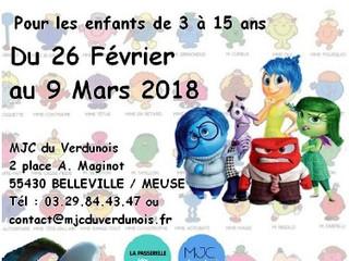 """Accueil de Loisirs des vacances d'hiver: du 26 Février au 09 Mars 2018 sur le thème """" Des P"""