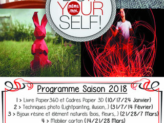 Atelier Bricolage Do It Yourself Adultes: les Mercredis de 08h00 à 11h00, divers thèmes, des rires,