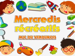 Les mercredis récréatifs de la MJC du Verdunois, c'est reparti !
