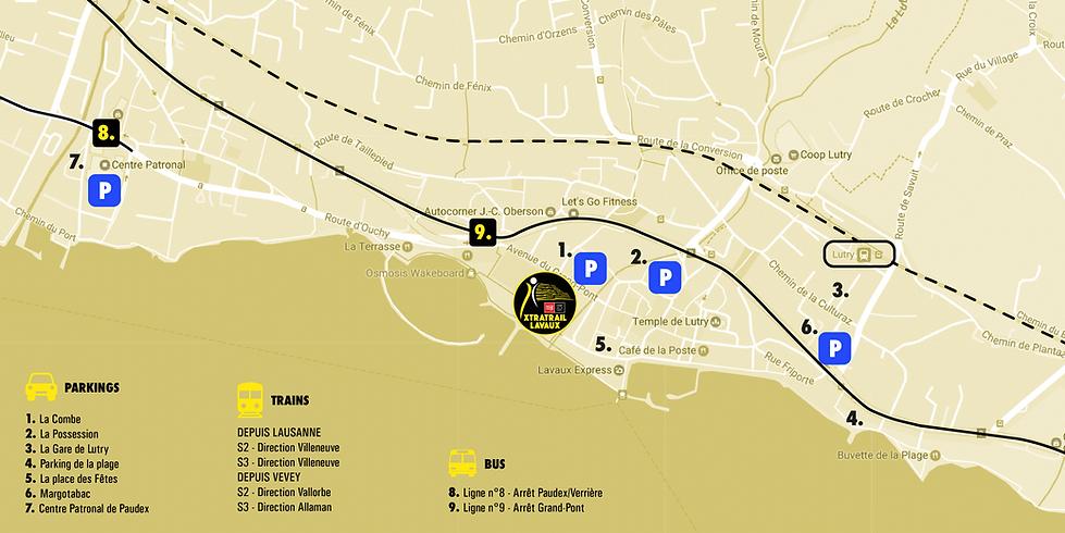 Plan d'accès xtratrail