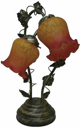 リリー タッチランプ 2灯 赤の複製