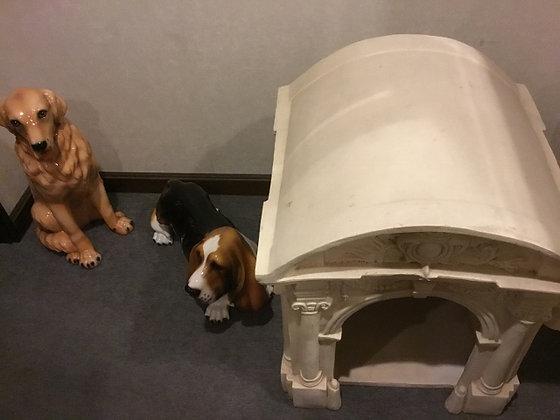 犬の置物 陶器