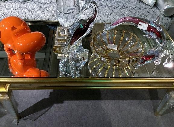サギ ガラス2296-003