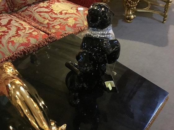 黒豹 陶器