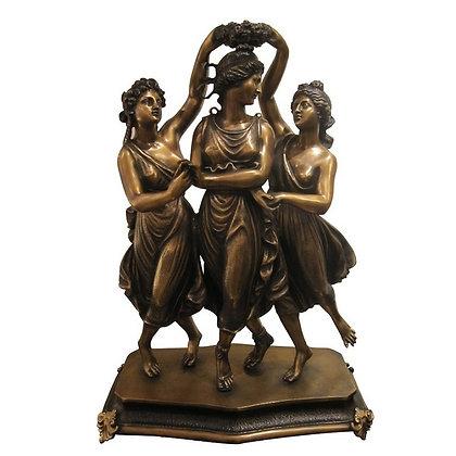 ブロンズ像 三人の踊り子 2337001