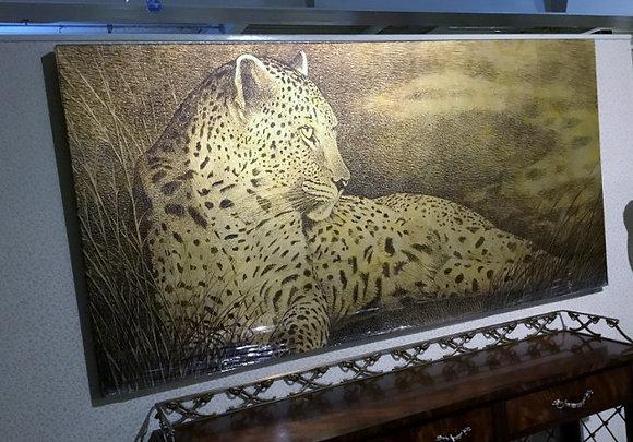 豹のパネル 2002-004