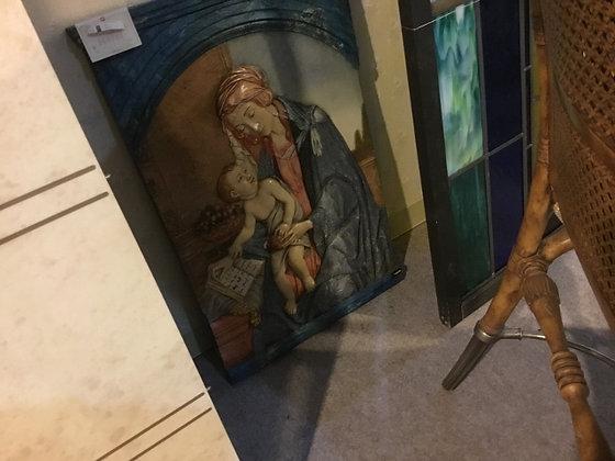 聖母マリア ウォールパネル