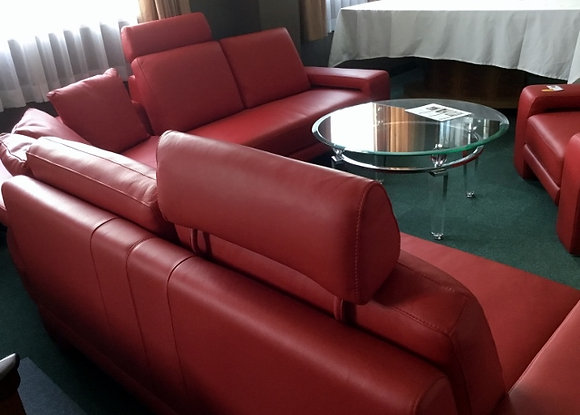 コーナーソファ 赤 1471-011