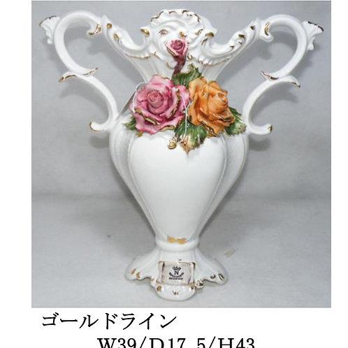 陶器の花 オブジェ