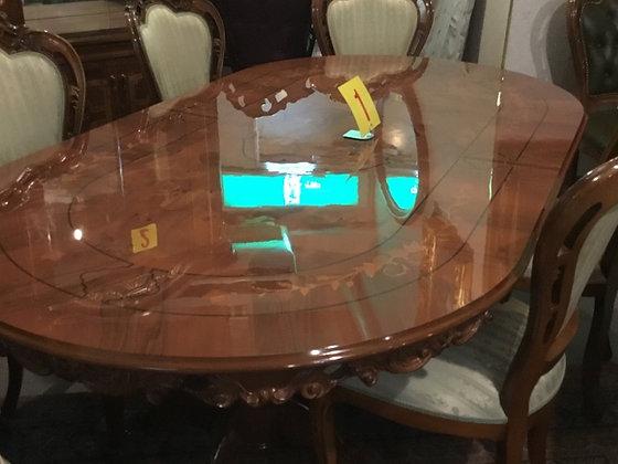 ダイニングテーブル 楕円