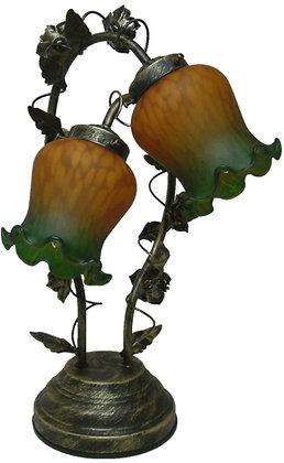 リリー タッチランプ 2灯 緑