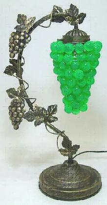 葡萄のランプ 緑
