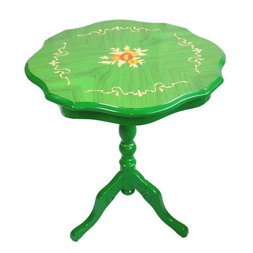 象嵌コーヒーテーブル緑