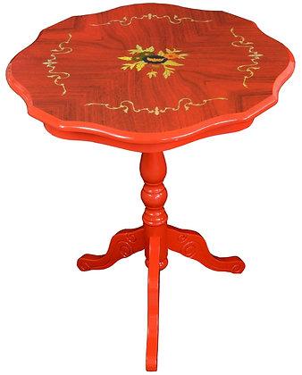 ティーテーブル 赤