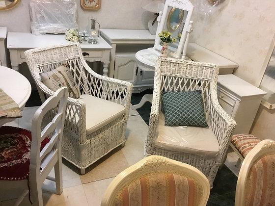 唐の椅子 白