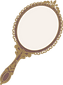 輸入家具 ローズ手鏡