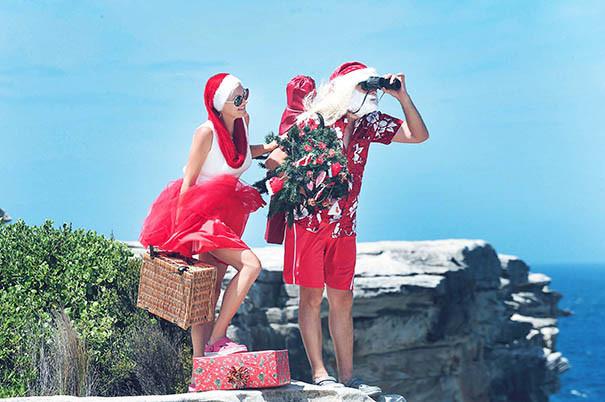 36 Santa Goes On Holiday by Aleksandra Walker