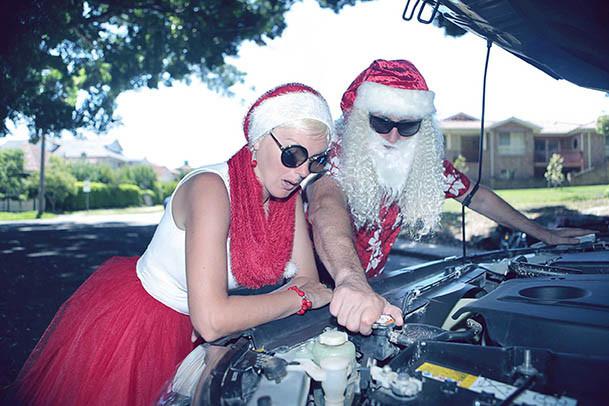20 Santa Goes On Holiday by Aleksandra Walker