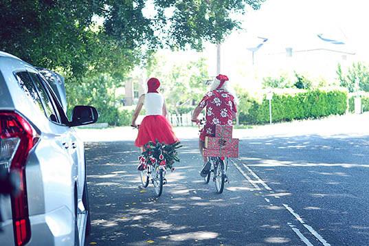 22 Santa Goes On Holiday by Aleksandra Walker
