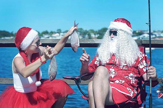 31 Santa Goes On Holiday by Aleksandra Walker