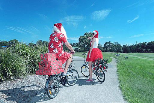 24 Santa Goes On Holiday by Aleksandra Walker