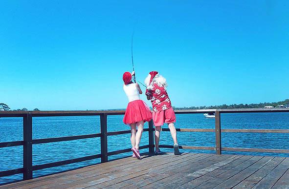 27 Santa Goes On Holiday by Aleksandra Walker